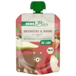 REWE Bio Erdbeere-Birne-Apfel 90g