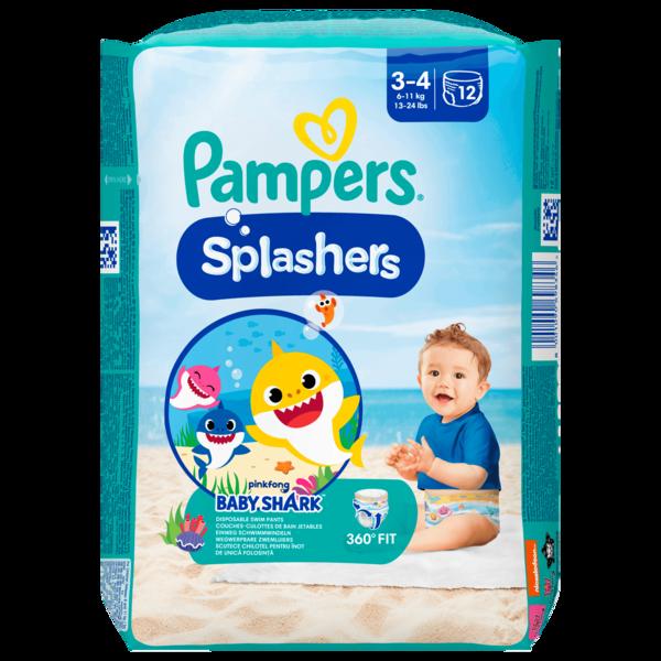 Pampers Splashers Gr.3-4 6-11kg 12 Stück