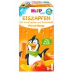 Hipp Eiszapfen mit Bio Fruchtpüree und Fruchtsaft Pfirsich-Mango 5 Stück, 150g