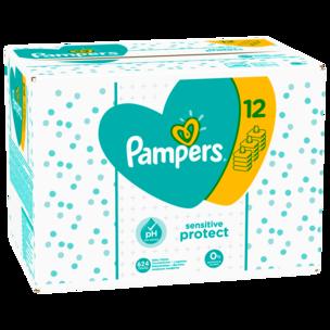 Pampers Feuchttücher Sensitive Vorteilspack 12x52 Stück