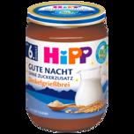 Hipp Gute Nacht Dinkelgrießbrei, ab 6. Monat – ohne Zuckerzusatz 190g