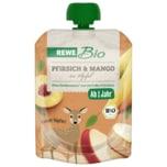 REWE Bio Pfirsich-Mango-Apfel 90g Pouch