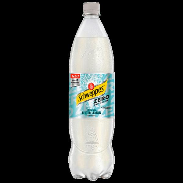 Schweppes Bitter Lemon Zero 1,25l