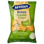 McVitie's Baked Cracker Crips Sourcream Schnittlauch 150g