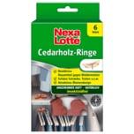 Nexa Lotte Cedarholz-Ringe 6 Stück