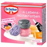 Dr. Oetker 4 Lebensmittelfarben 40g