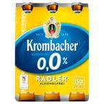 Krombacher Radler alkoholfrei 0,0% 6x0,33l