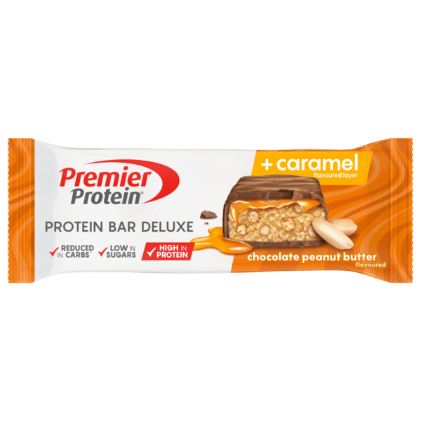Premier Protein chocolate peanut butter + caramel 50g