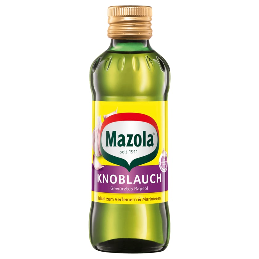 Mazola Knoblauch Rapsöl 250ml