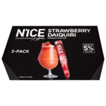 Nice Frozen Cocktail Strawberry Daiquiri 3x110ml