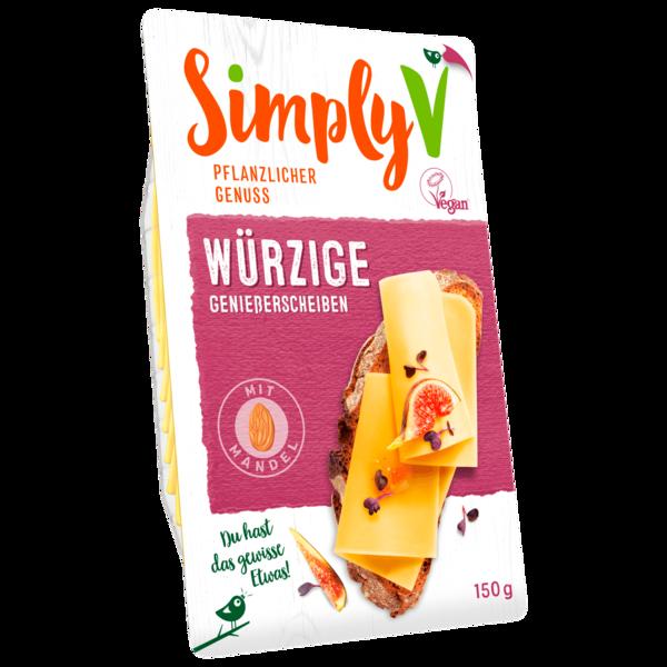 Simply V Genießerscheiben würzig vegan 150g
