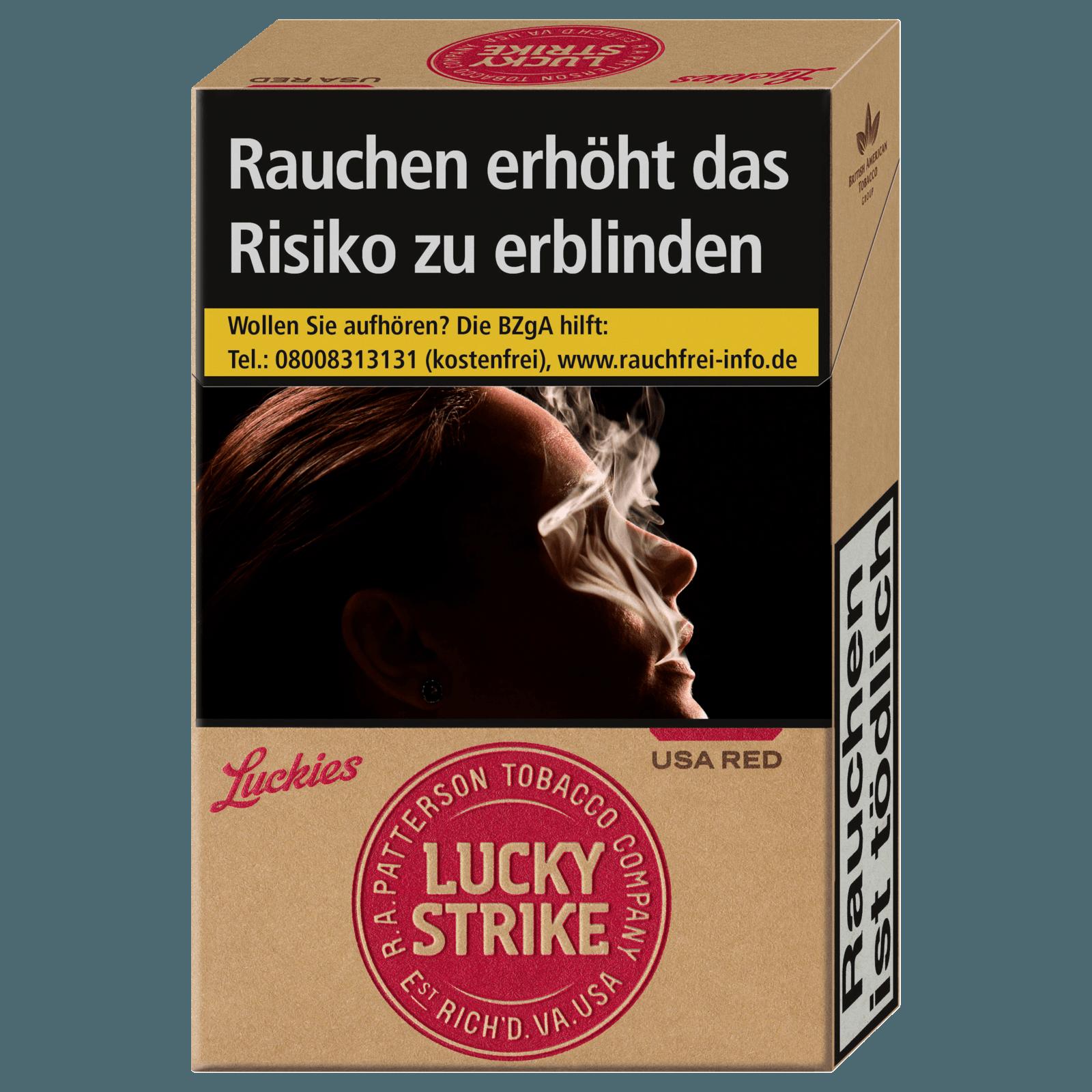 Lucky Strike USA Red 20 Stück
