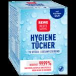 REWE Beste Wahl Hygienetücher 15 Stk.