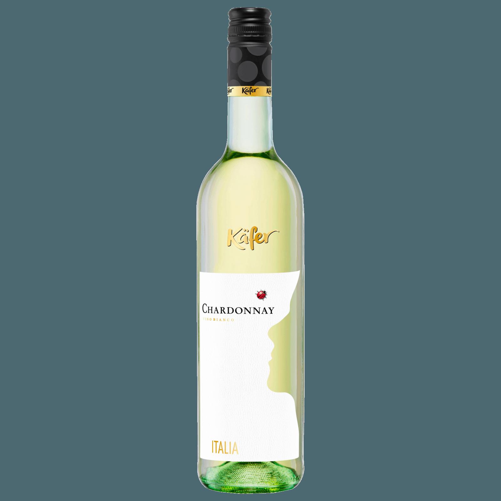 Käfer Weißwein Chardonnay Italien IGP trocken 0,75l