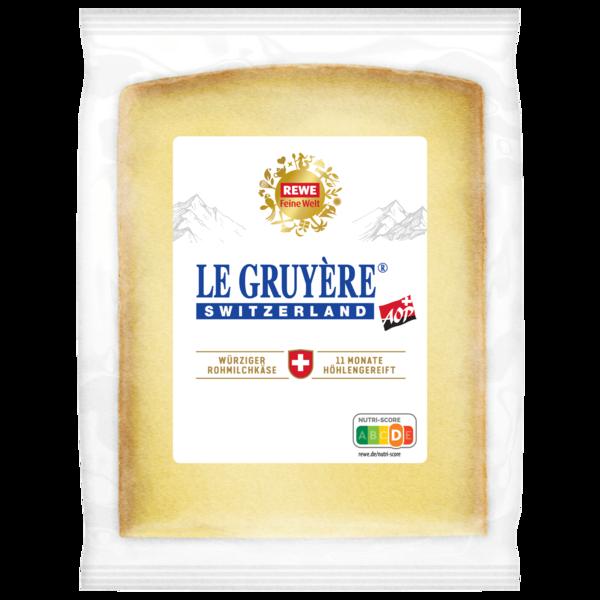REWE Feine Welt Le Gruyère 11 Monate 150g