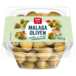 REWE Beste Wahl Malaga Oliven mit Stein 160g