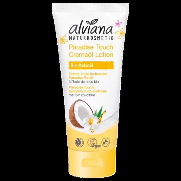 Alviana Cremeöl Lotion Paradise Touch Kokosöl 200ml