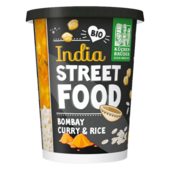 Küchen Brüder India Street Food Bombay Curry and Rice 350g