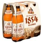Licher 1854 Kellerbier naturtrüb & unfiltriert 6x0,33l