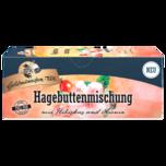 Goldmännchen-Tee Hagebuttenmischung mit Hibiskus und Aronia, 25 Teebeutel