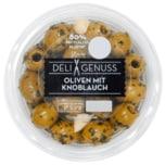 Deli Genuss Oliven mit Knoblauch 165g