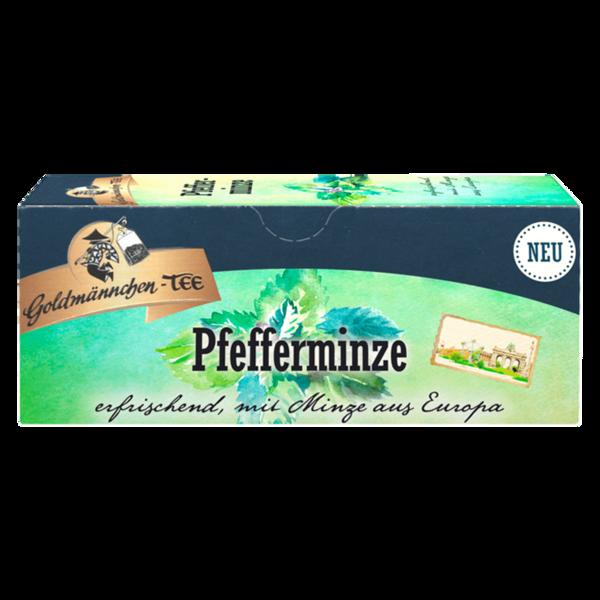 Goldmännchen-Tee Pfefferminze mit Minze aus Europa, 25 Beutel