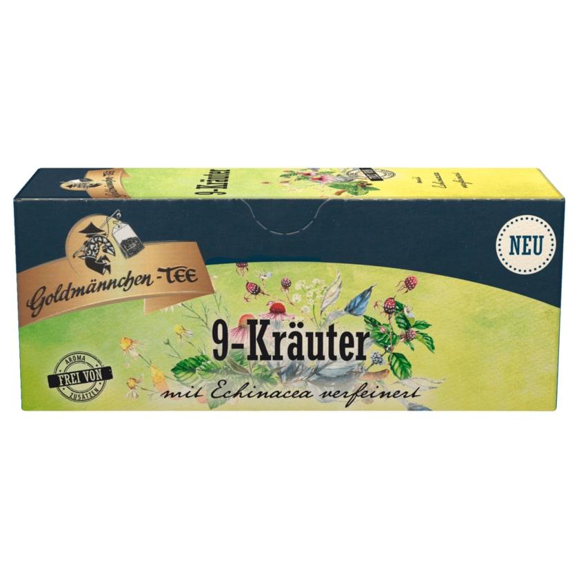 Goldmännchen-Tee 9-Kräuter mit Echinacea 25 Bt.