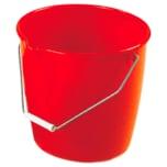 Bürstenmann Kunststoff-Eimer 13l rot