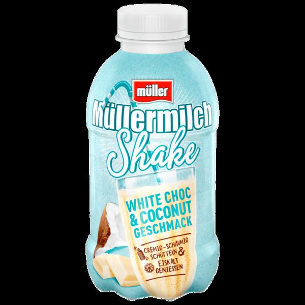 Müller Müllermilch Shake White Choc & Coconut Geschmack 400ml