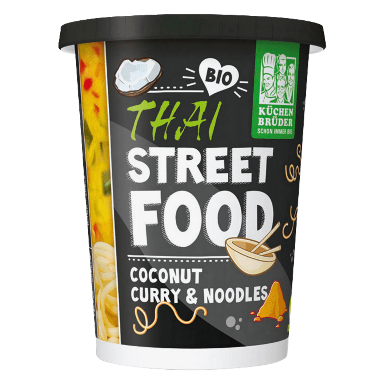Küchen Brüder Thai Street Food Coconut Curry and Noodles 350g