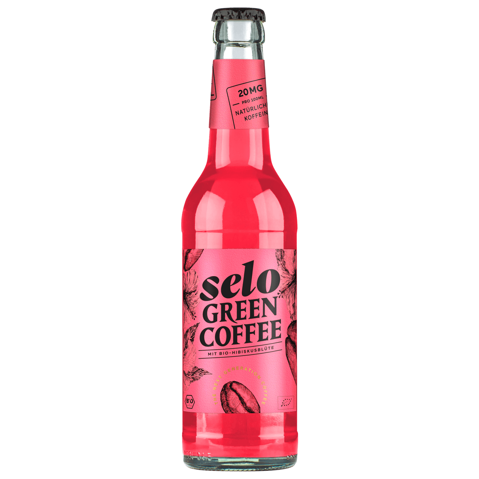 Selo Green Coffee Hibiskusblüte 0,33l