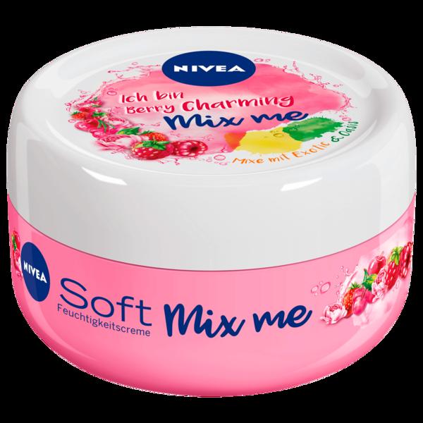 Nivea Feuchtigkeitscreme Soft Mix Berry Charming 100ml