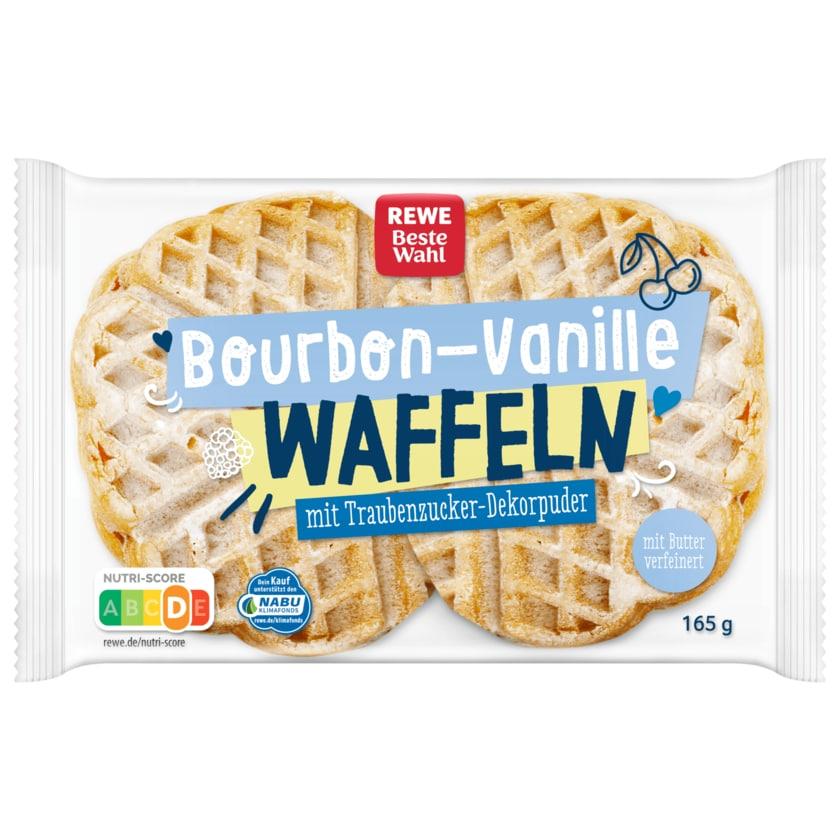 REWE Beste Wahl Bourbon-Vanille Waffeln 165g