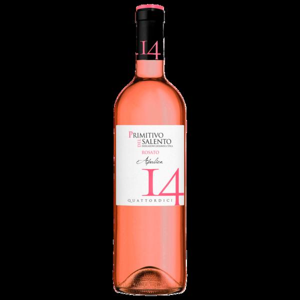 Quattordici Rosé Primitivo del Salento Rosato IGT trocken 0,75l