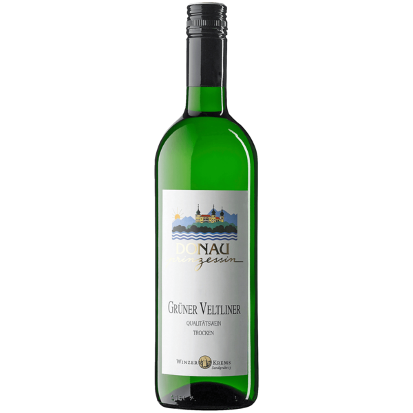Winzer Krems Weißwein Donau Prinzessin Grüner Veltliner trocken 0,75l