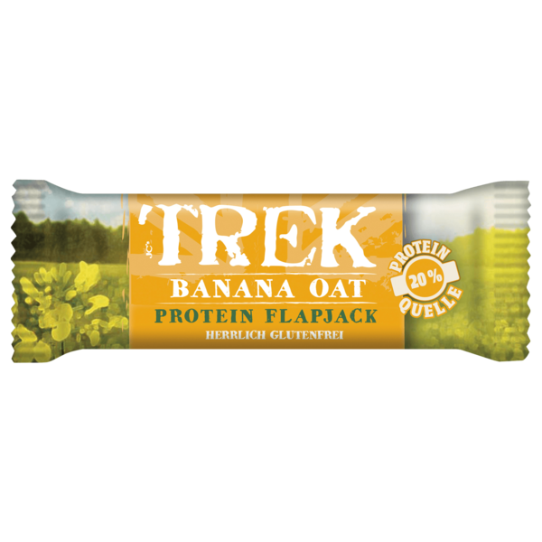 Trek Banana Oat Protein Riegel 50g