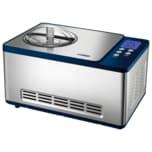 Unold Eismaschine Schuhbeck Exklusiv Silber/Dunkelblau 150W