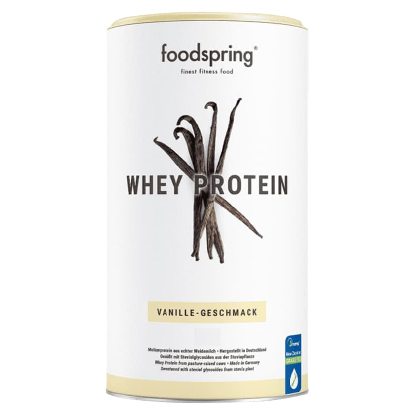 Foodspring Whey Protein Vanille 330g