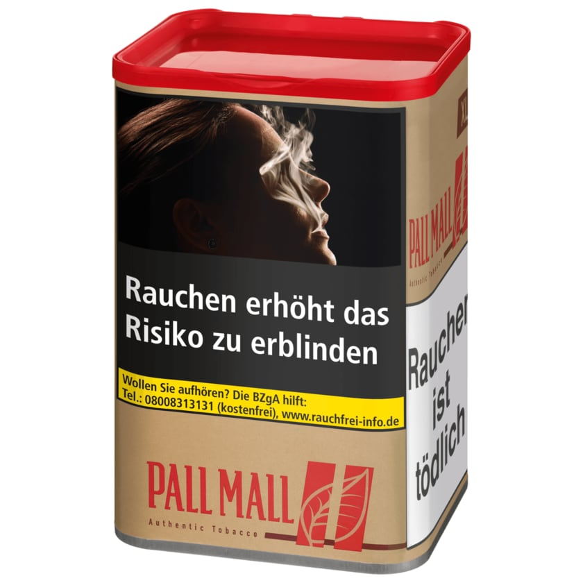 Pall Mall Red Authentic XL 75g