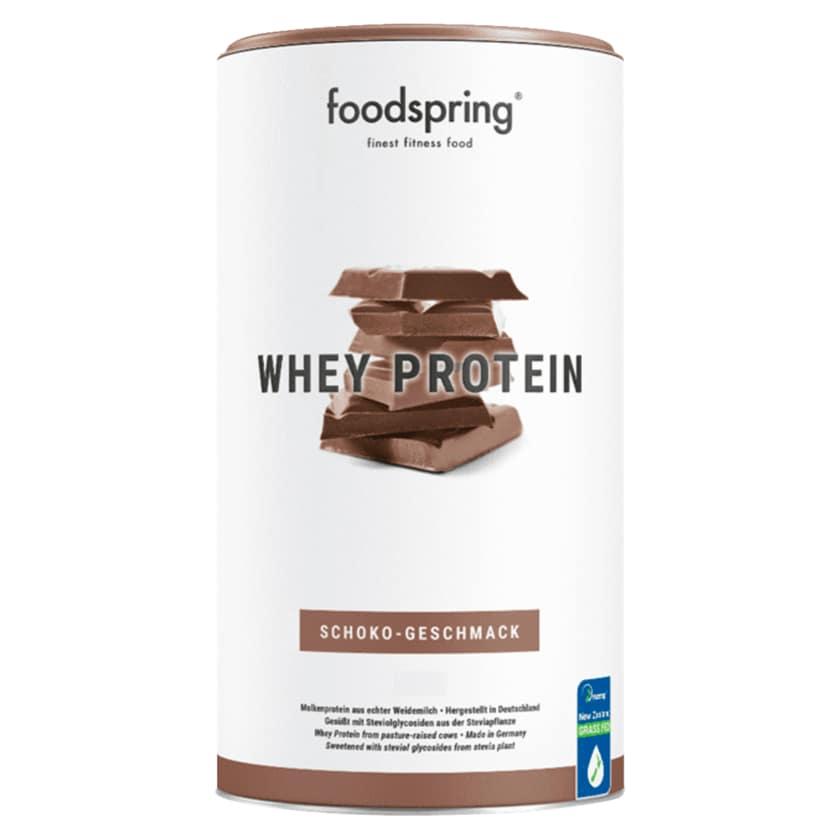Foodspring Whey Protein Schokolade 330g