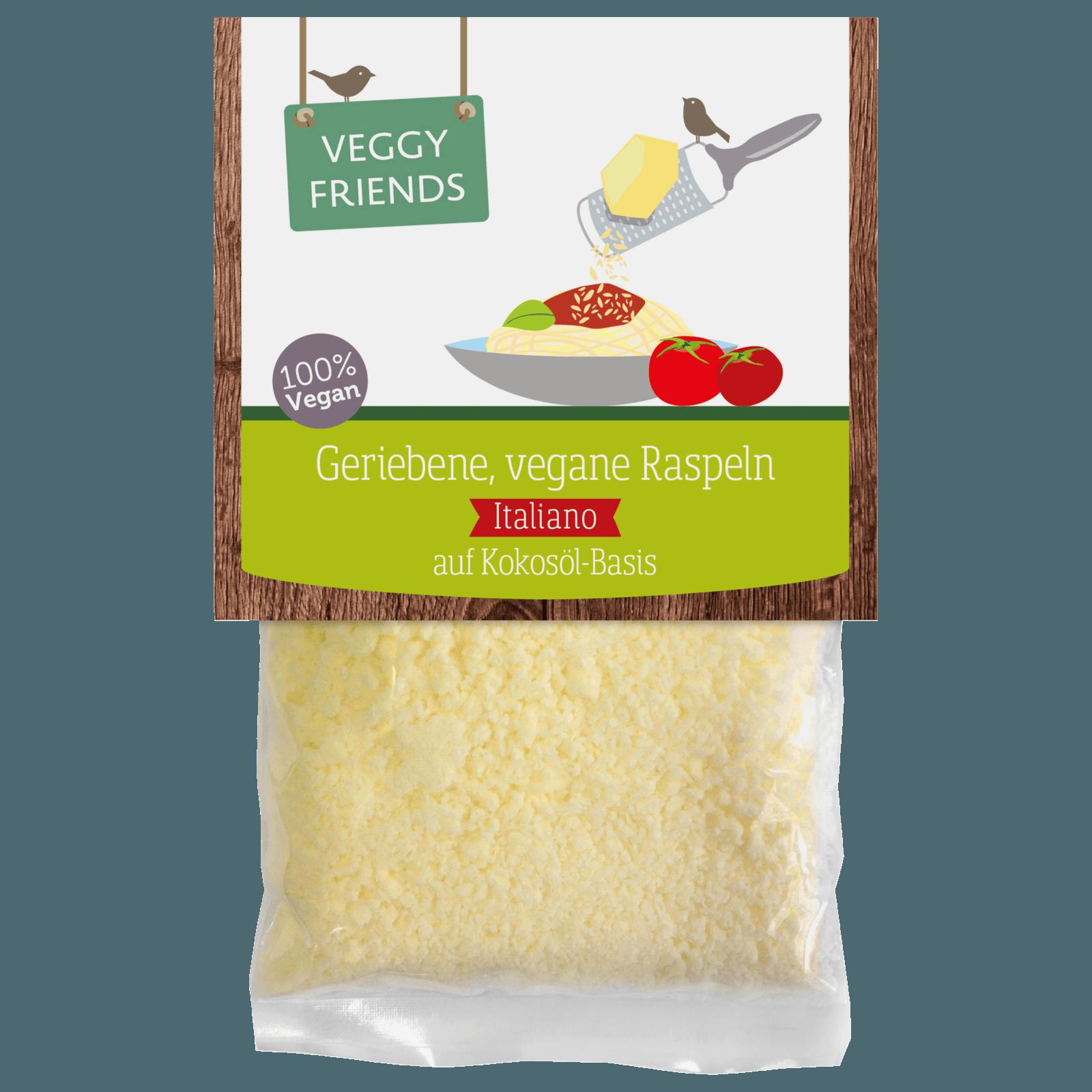 Veggy Friends Vegetarische Raspeln Italiano 100g