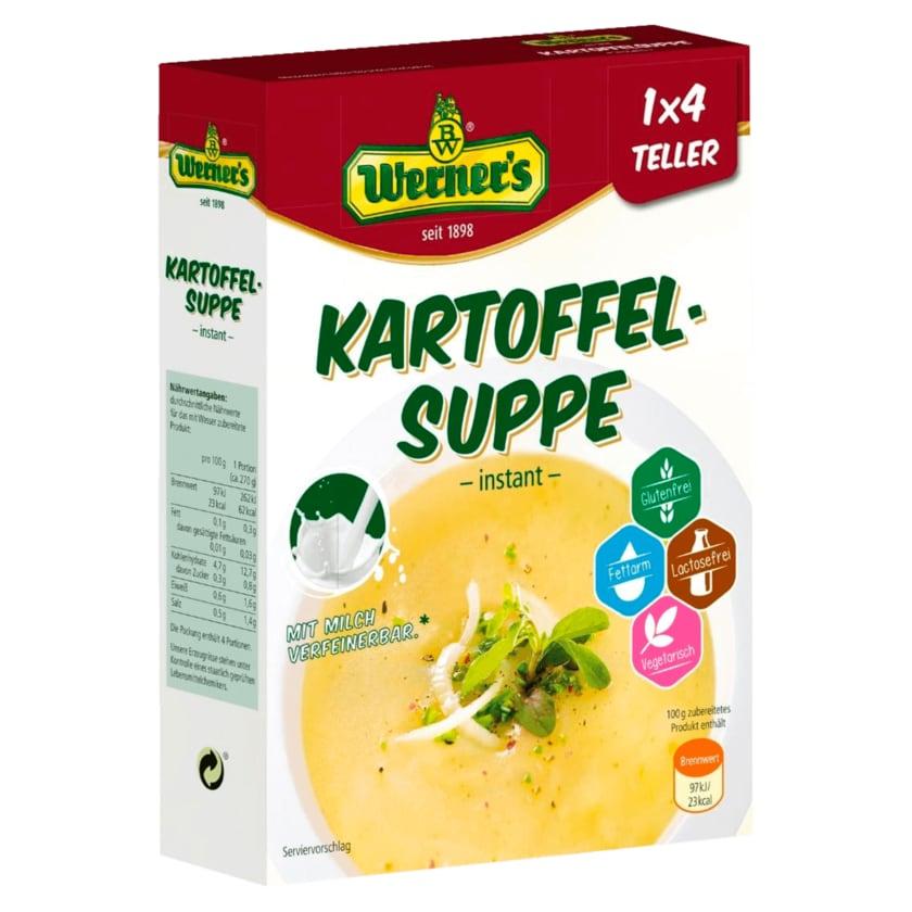 Werner's Sächsische Kartoffelsuppe 84g