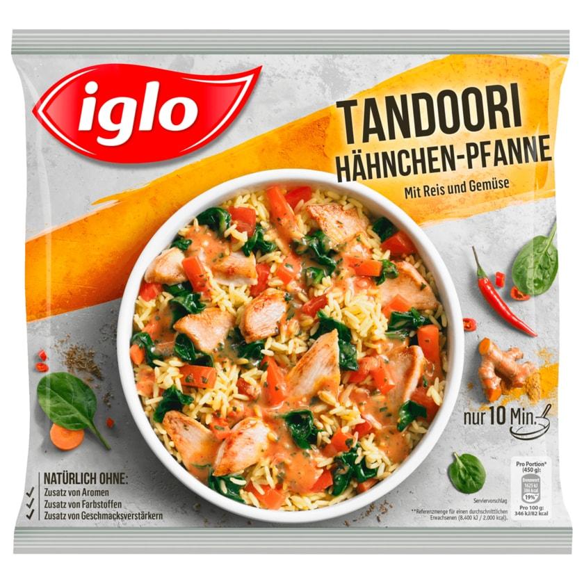 Iglo Tandoori Hähnchen-Pfanne mit Reis und Gemüse 450g