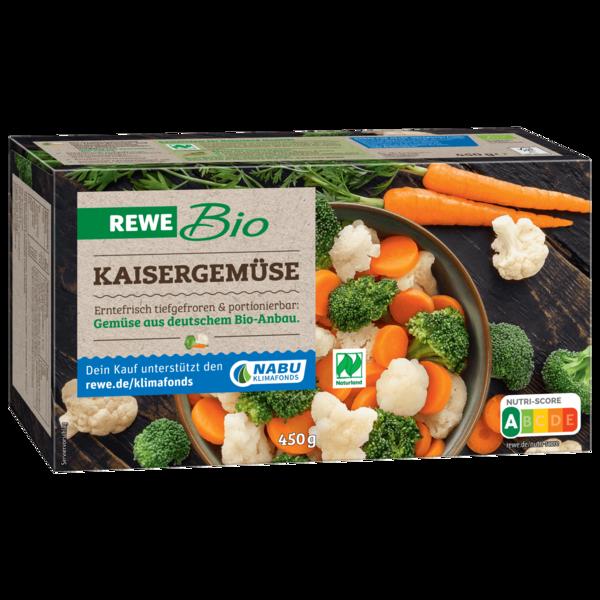 REWE Bio Kaisergemüse tiefgefroren 450g