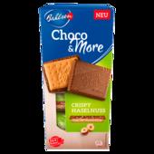 Bahlsen Choco&More Crispy Haselnuss 120g