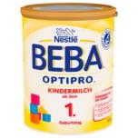 Nestlé Beba Optipro Kindermilch ab dem 1. Geburtstag 800g