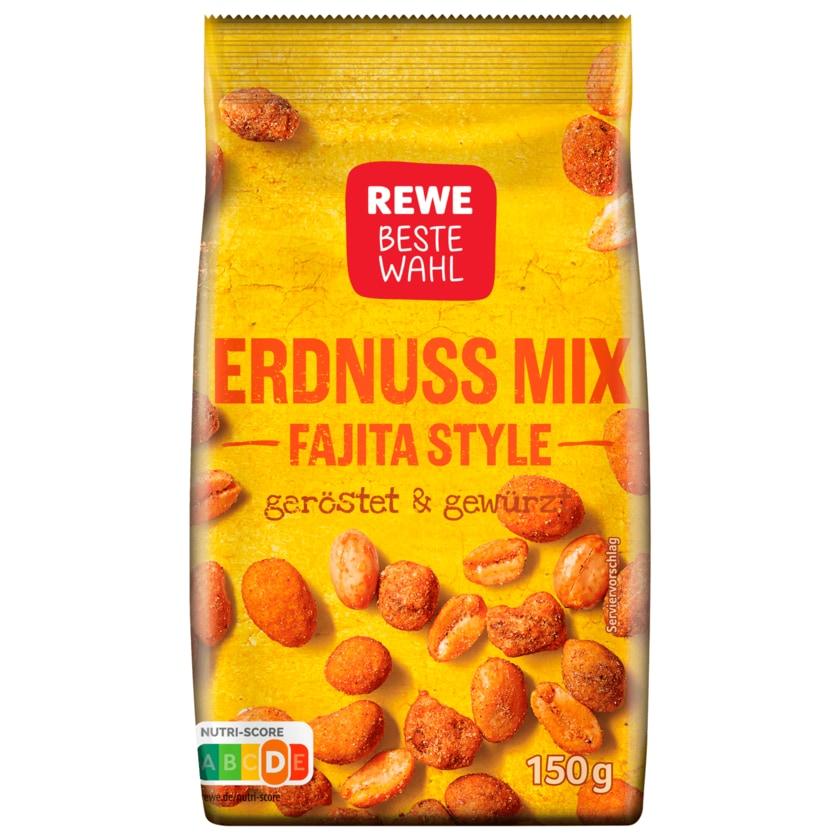 REWE beste Wahl Erdnuss Mix Fajita Style 150g