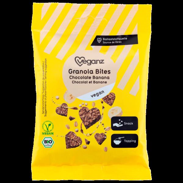 Veganz Bio Granola Bites Chocolate Banana 50g