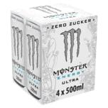 Monster Energy Ultra Zero Zucker 4x0,5l