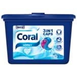 Coral Waschmittel 3in1 Caps White 486g, 16+2WL